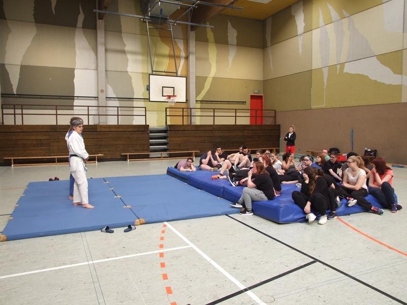 Sportprojekttag des berufsbildungszentrum Bitburg-Prüm 2016