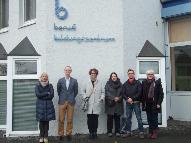 Besuch vom Isle of Wight College im berufsbildungszentrum Bitburg-Prüm (bebiz)