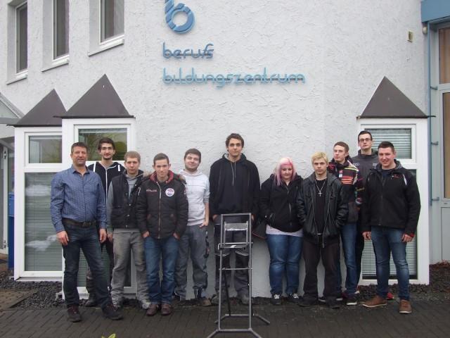 Prüfung im Metallbauer-Handwerk im berufsbildungszentrum Bitburg-Prüm (bebiz)