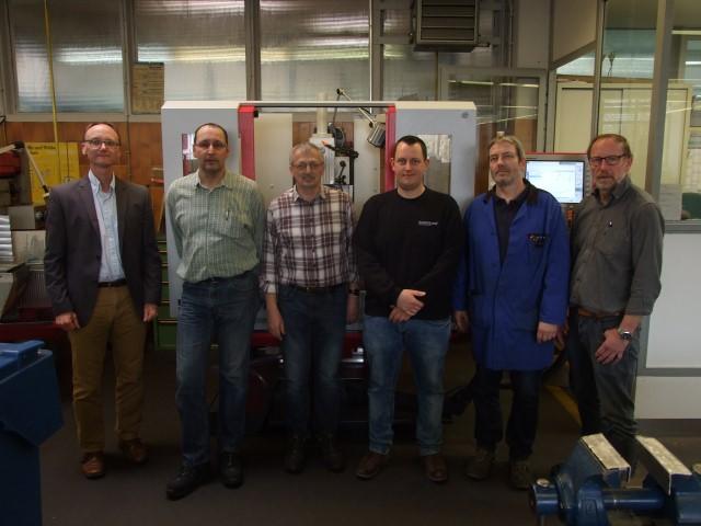 berufsbildungszentrum Bitburg-Prüm (bebiz) erhält neue Fräsmaschinen
