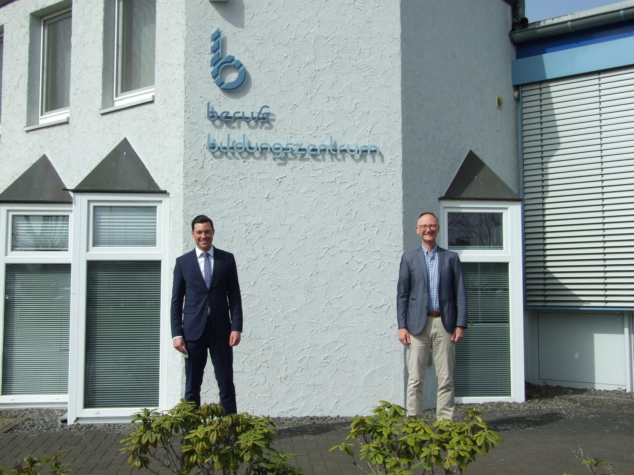 Der neue Geschäftsführer des berufsbildungszentrums Bitburg-Prüm (bebiz) tritt seinen Dienst an