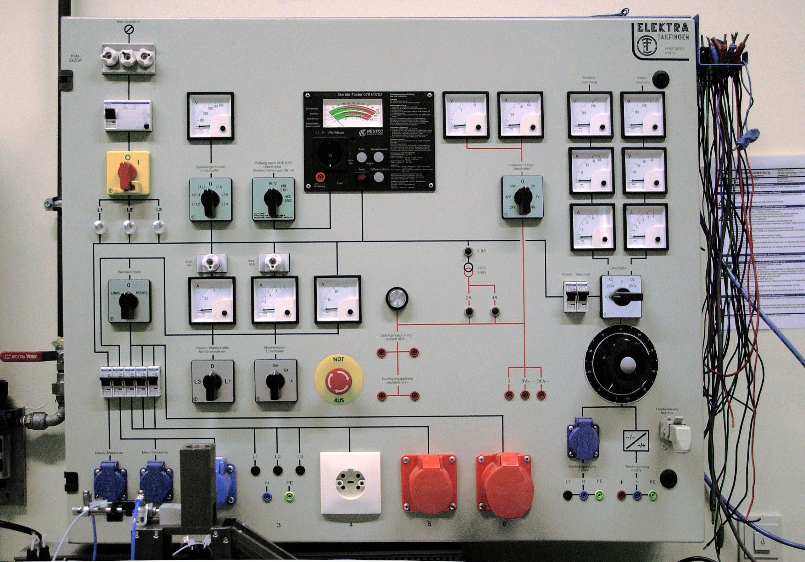 Wir suchen Ausbilder Elektrotechnik